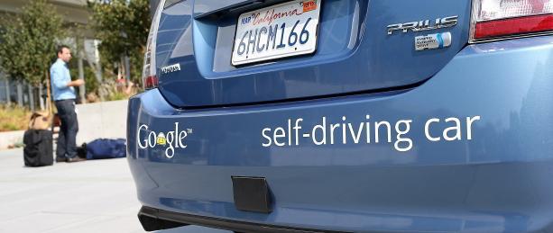 Google taxi-robot