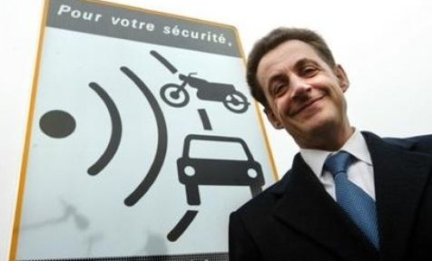 Nicolas Sarkozy et les radars